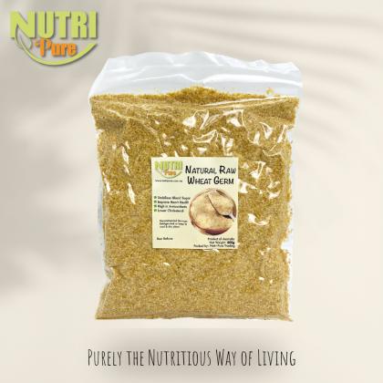 Nutri Pure Natural Raw Wheat Germ 500g   天然小麦胚芽